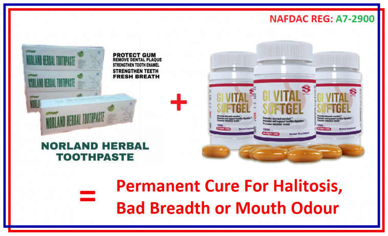 Permanent Cure For Halitosis, Bad Breadth or Mouth Odour